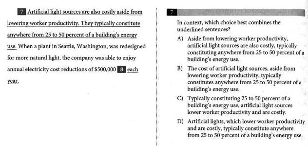 如何三步搞定新SAT文法句子合并题图2